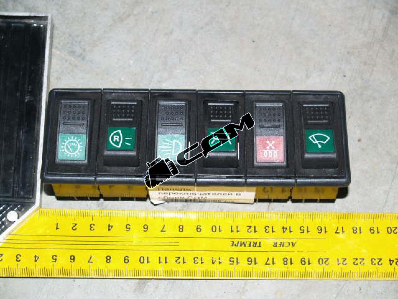 Панель переключателей в сборе CDM  JK939