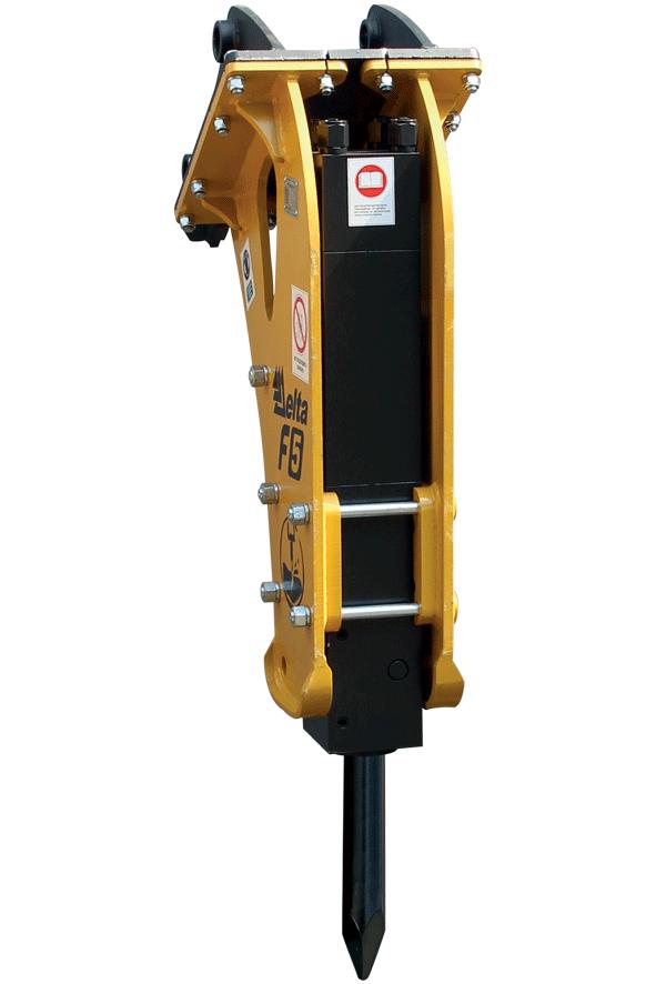 Навесное оборудование Дельта Гидромолот F5